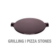 Ceramic Pizza & Grilling Stones