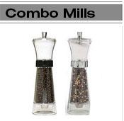 Combo Salt & Pepper Mills
