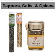Salt, pepper, & spices