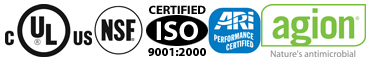 Ice O Matic certifications